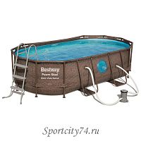 Бассейн каркасный Bestway Power Steel Swim Vista 56714